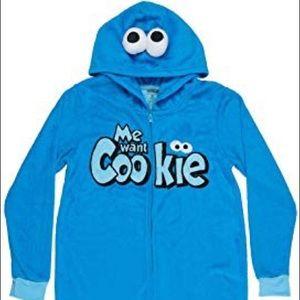 NWT Cookie Monster Onesie